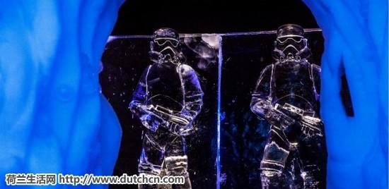 荷兰虽冷,但冷得漂亮~ 荷兰最大型的冬季活动迁都阿姆顶级冰雕艺术品壮观开场!