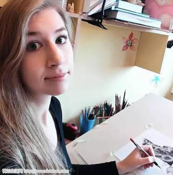 自学成才!90后荷兰美女画师 一匹马她画了15年 - 浪浪云 - 仰望星空