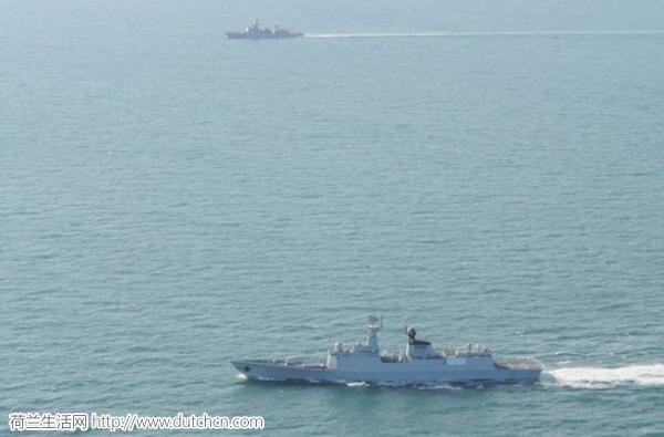 """荷兰海军指挥官被""""圈粉"""" 遇中国军舰兴奋发推特"""