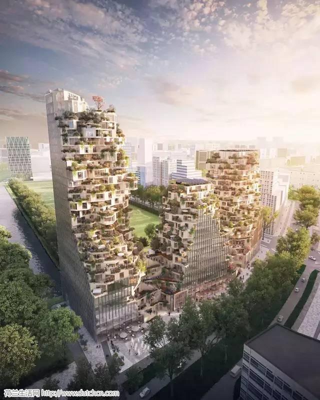 """荷兰建筑师又开了一次脑洞,一座带""""山谷""""的生态建筑即将诞生!"""