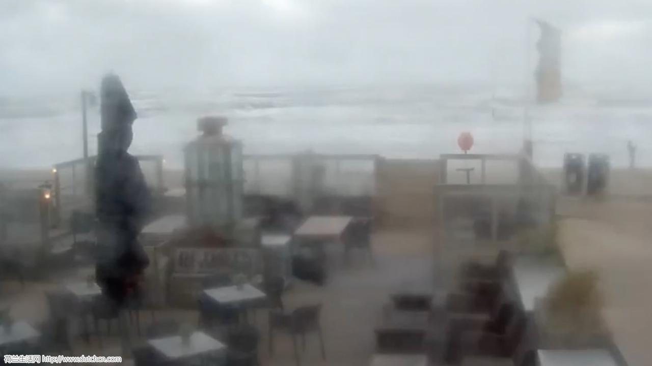 12级狂风今日横扫荷兰,风速高达120公里/时!摧毁性极大!速回家!