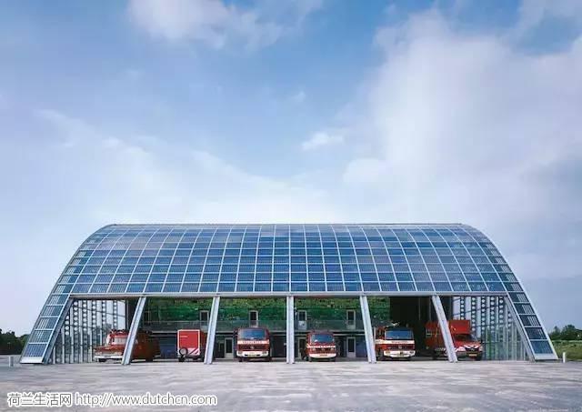 """消防站竟然也可以这么酷,看看荷兰这座""""抛物线""""建筑!"""