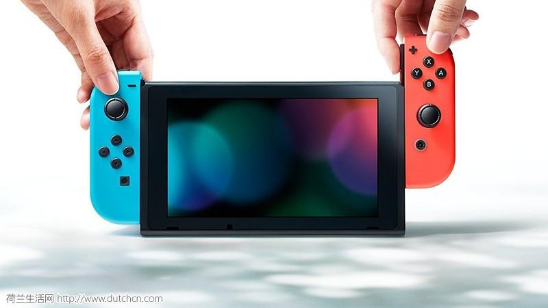 任天堂 Switch 掌上游戏机 ,酷炫红蓝 Joy-Con,游戏方式多样