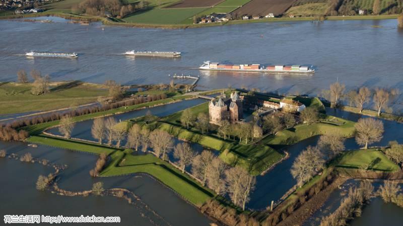 本周三德国莱茵河洪水来袭,荷兰发布防洪警报!
