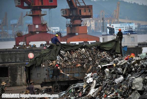 """中国对""""洋垃圾""""说不!荷兰彻底傻眼…欧美大国全盘崩溃…"""