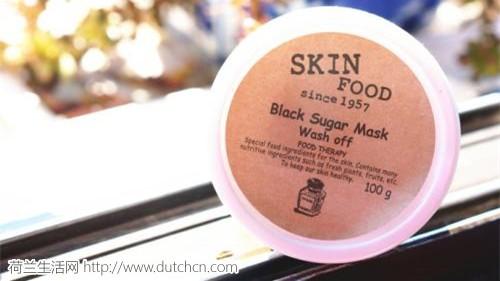 美妆达人PONY推荐的天然护肤品牌Skin Food 思亲肤-红糖去角质磨砂面膜仅售9.36欧