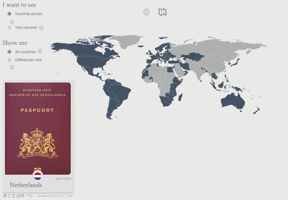 2018全球最强护照排名:荷兰护照世界第四,免签174个国家!