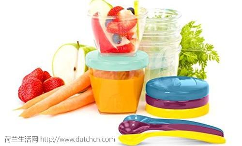 法国母婴品牌Babymoov 多用辅食密封盒15件套加3个小勺仅售24.99欧,终身质保
