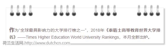 最新泰晤士大学排名:荷兰第一高校易主!却被中国大学力压惨……