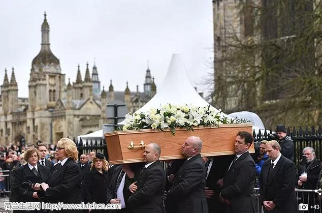 霍金葬礼在剑桥大学举行,万人空巷为伟人送行, 小雀斑致辞送别