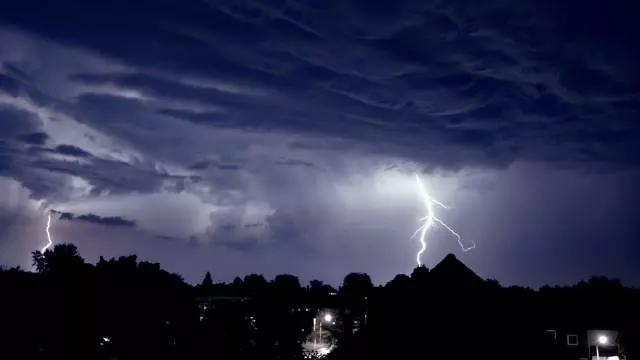 谜一样的天气...荷兰本周二黄色风暴预警,说好的春天呢?!