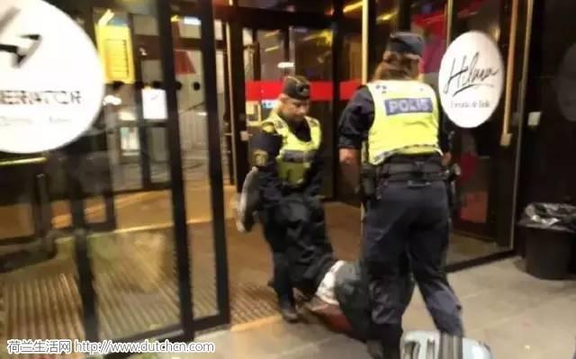 """中国""""巨婴""""旅客碰瓷瑞典警方!外交部发声明,瑞典居然正面刚?"""