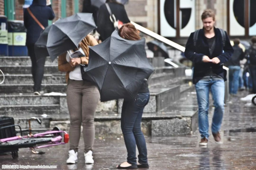 本周末10级狂风暴雨席卷荷兰!100千米/时风速,你站的住吗?