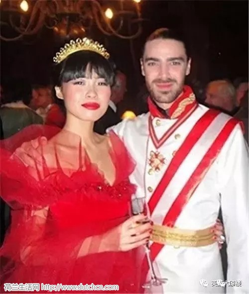 中国妹子欧洲留个学,竟意外嫁给王子!这样的人生太传奇!