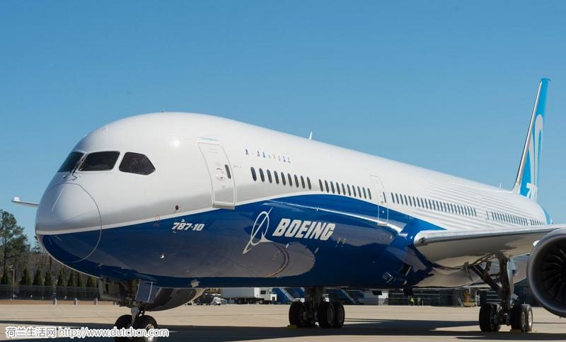 荷航将在明年下半年投入使用波音史上最大787-10客机