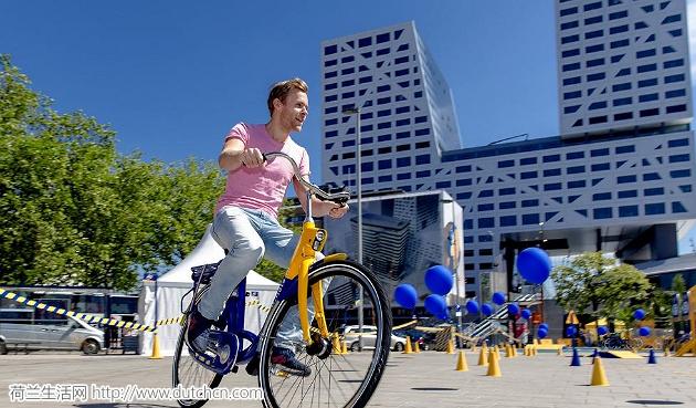 荷兰版共享单车越来越受欢迎,政府将继续投入6000辆