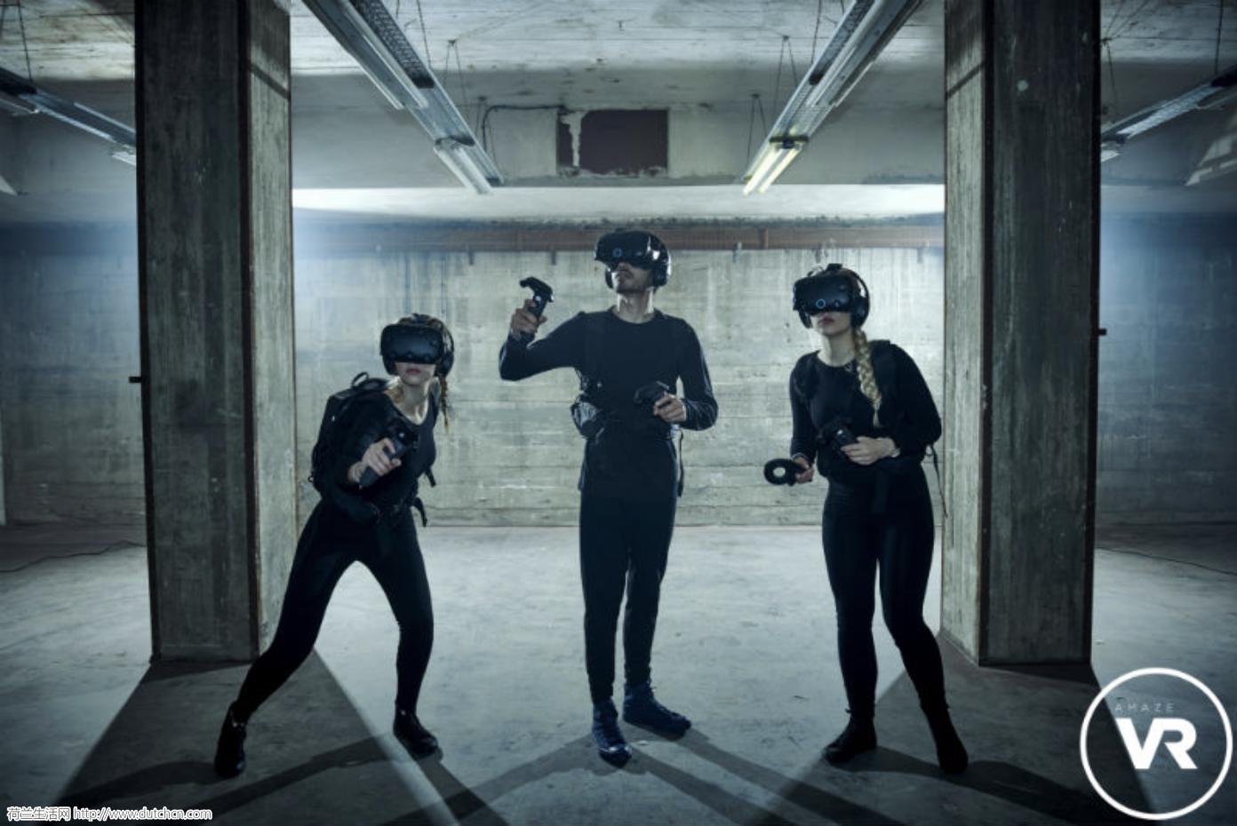 新玩意!VR高科技虚拟现实密室逃脱,拯救世界就看你了!