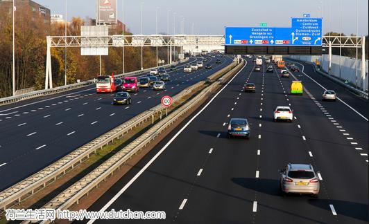 自行车王国的荷兰,汽车行驶的公里数创了新的历史记录