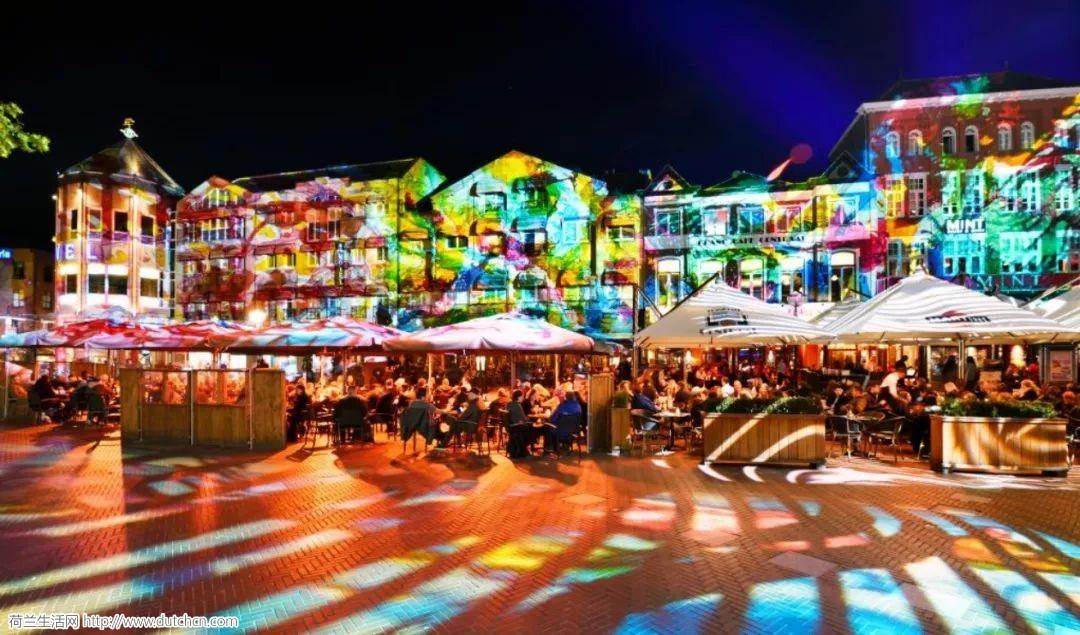 荷兰5大魔幻灯光节轮番上阵,朋友圈全年最绚时刻就靠它了!