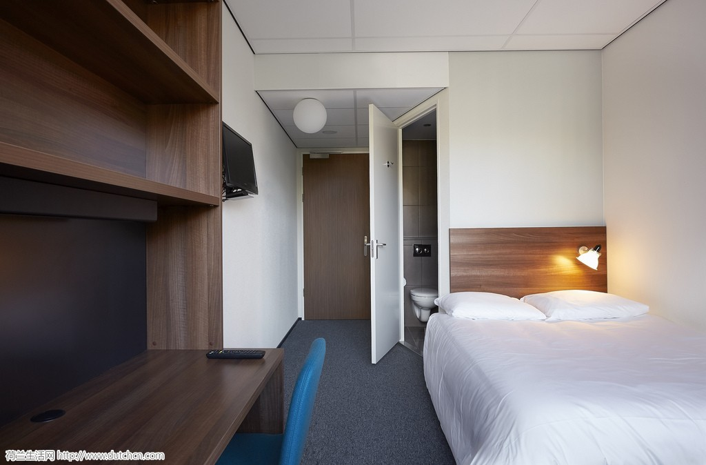 圣诞假期 the student hotel amsterdam west 短租