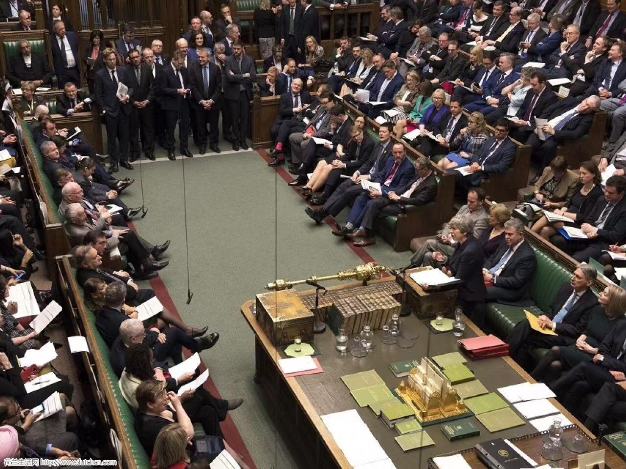最新消息:英国议会投票否决无协议脱欧方案