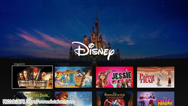 迪士尼将率先在荷兰测试Android版Disney+应用