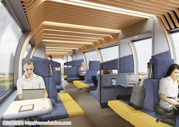 """""""不靠谱""""的NS要换新车厢!快来一睹未来荷兰火车车厢那梦幻般的创新设计"""