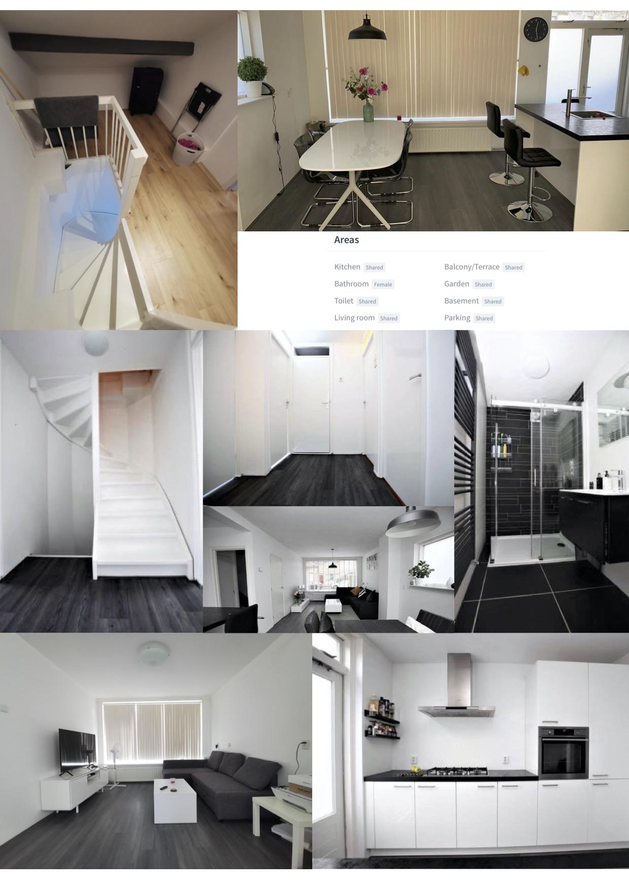 Capelle好房出租,500欧元一个月,整层出租,限女生