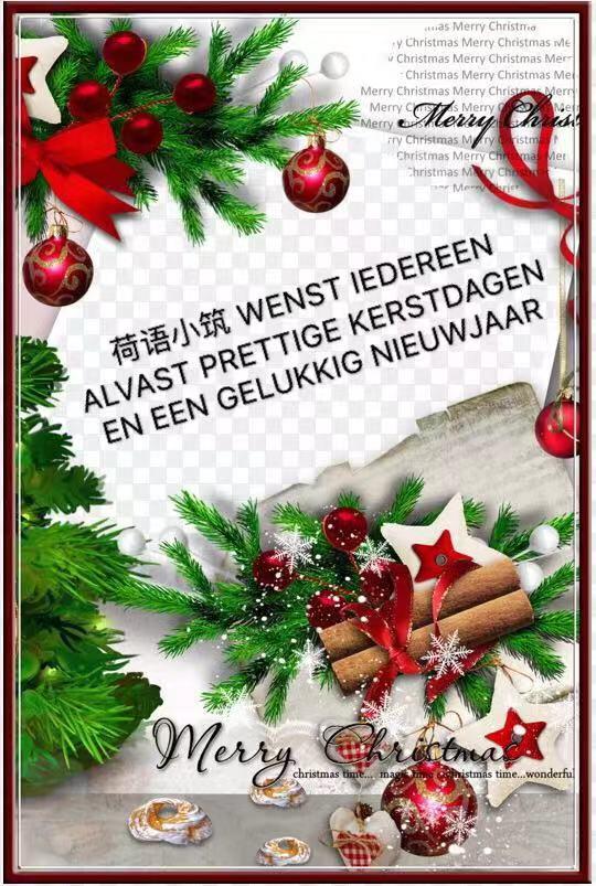 【荷语小筑】每周短文 NO. 34 - Kerstmis en Nieuwjaar 圣诞节和新年
