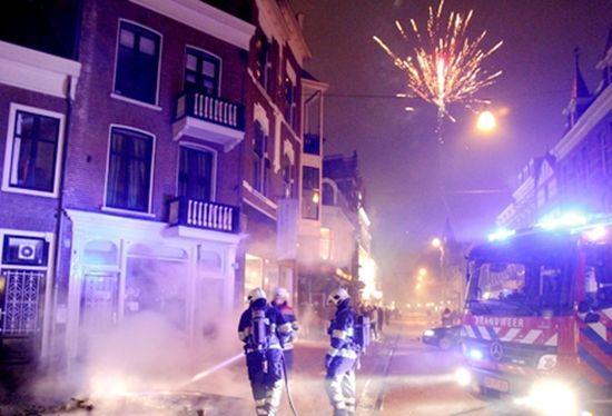 荷兰鹿特丹市通过地方立法 明年起禁放烟花爆竹