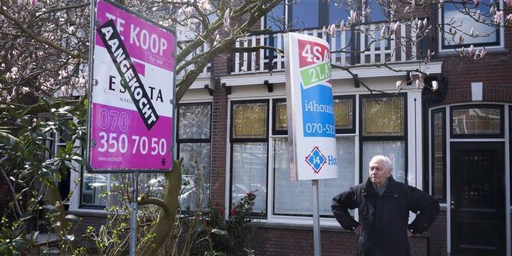 荷兰房价下跌,2月份环比便宜近9000欧元
