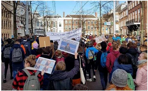 荷兰罢工人数破20年来最高记录,回顾最近八次大型罢工游行