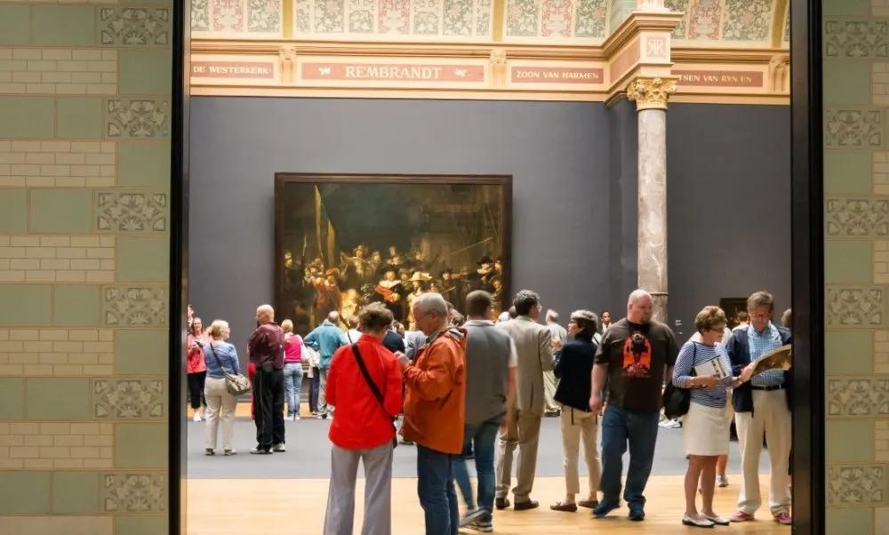 高清到令人吃惊!荷兰著名画作<夜巡>史上最高清图像公布