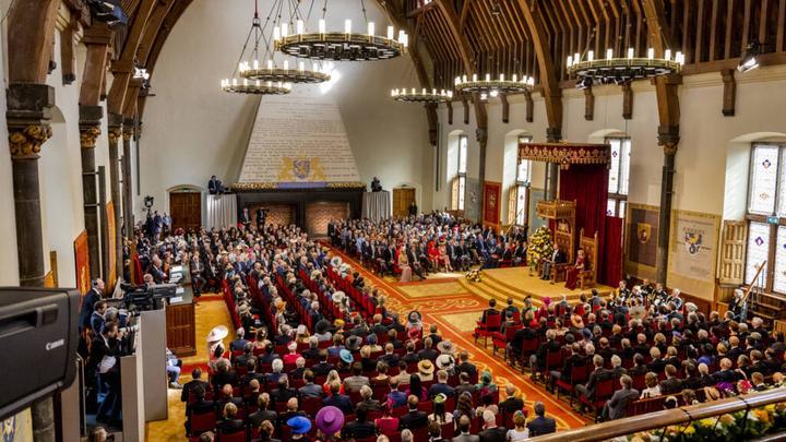 100多年来首次,荷兰国王的王座演讲易地举行