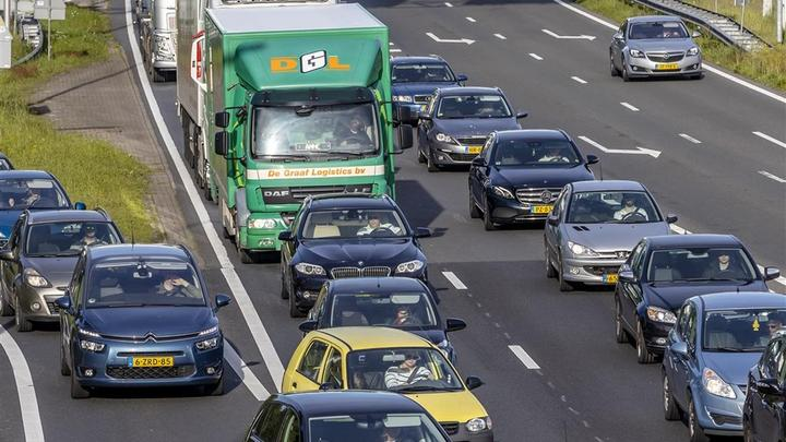 荷兰道路交通流量恢复正常,已经是正常水平的90%