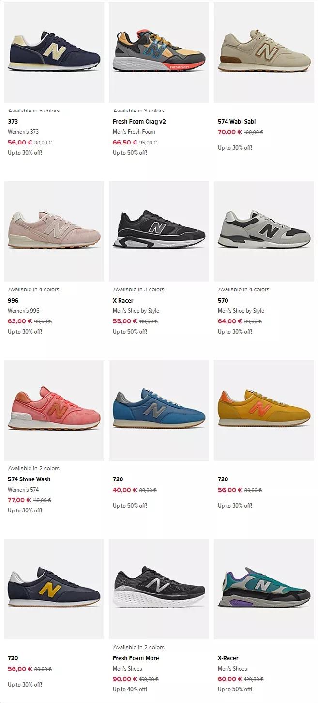 Adidas和Nike的大促都没看上合适的?那看看这个牌子,上千款式低至五折