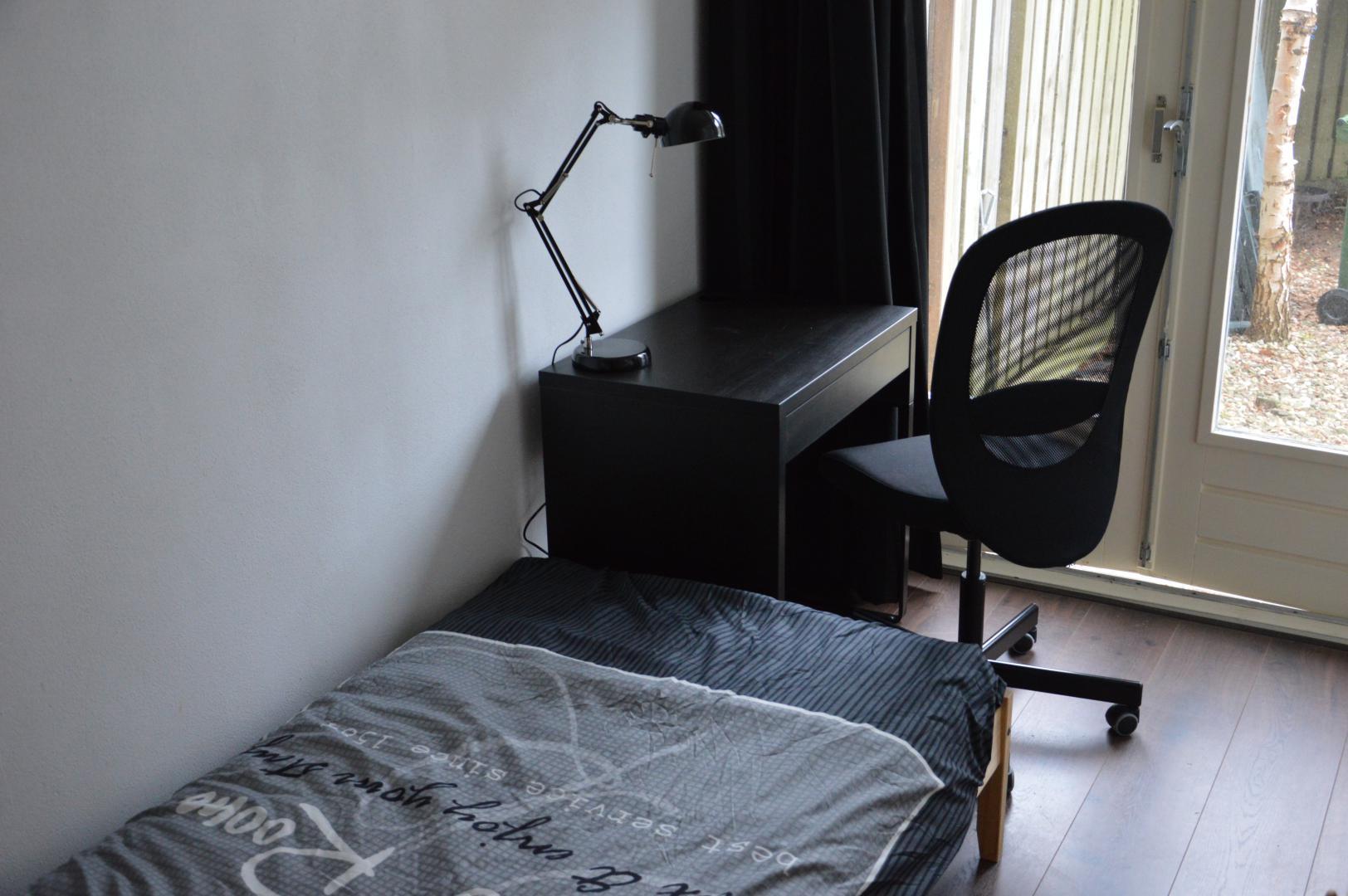 10平方米 单人床房 男女均可 10 分钟走路到海牙大学
