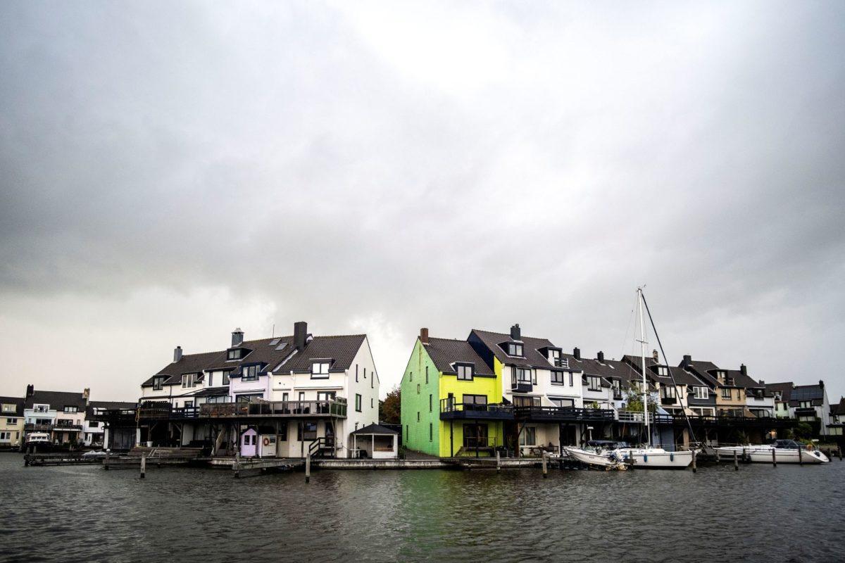 你的荷兰房子刷什么颜色由政府说了算?看看这个苹果绿的……