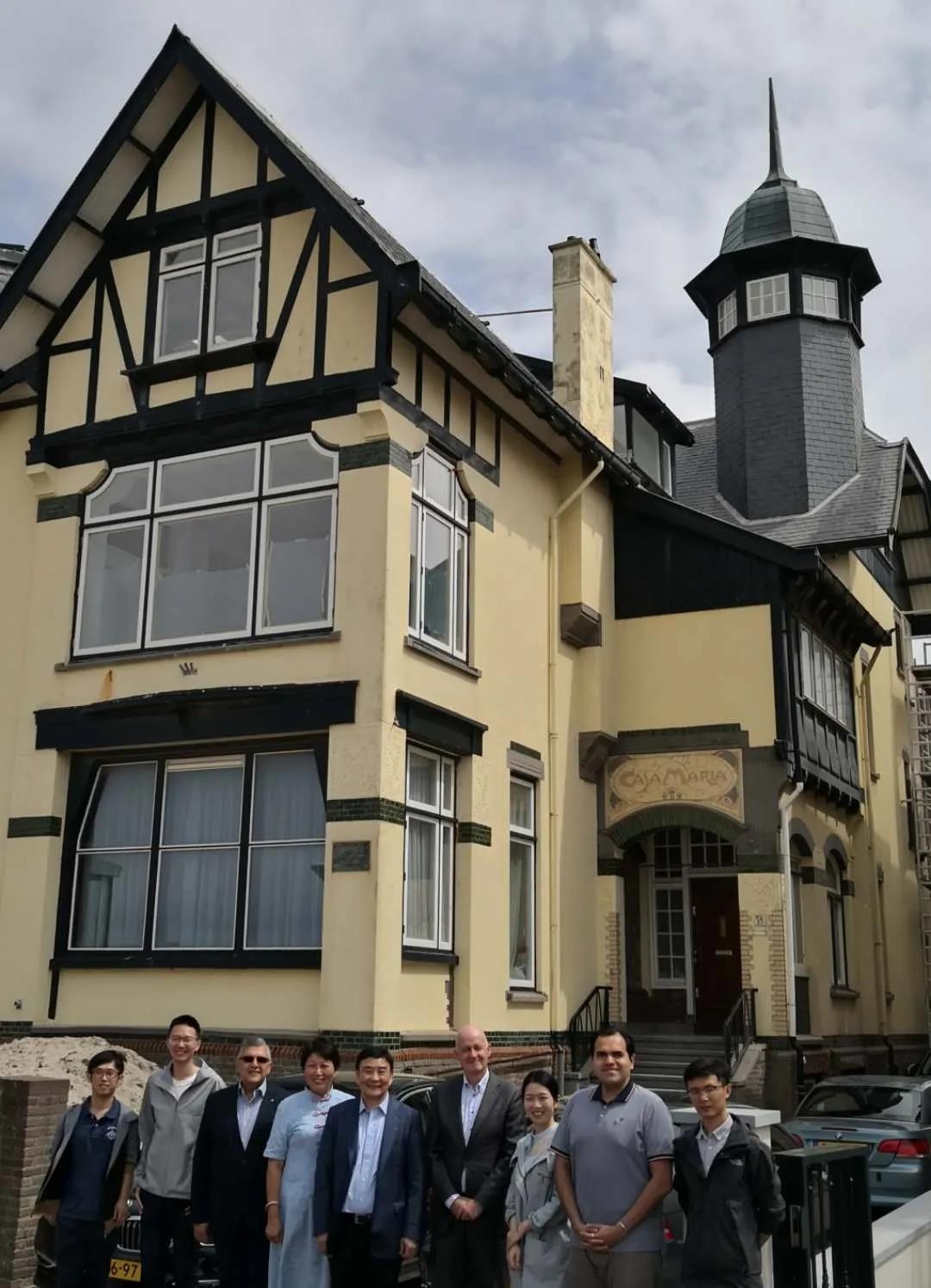 荷兰皇家工程师协会与欧洲留华同学会联盟及武汉大学荷比卢校友会联手合作