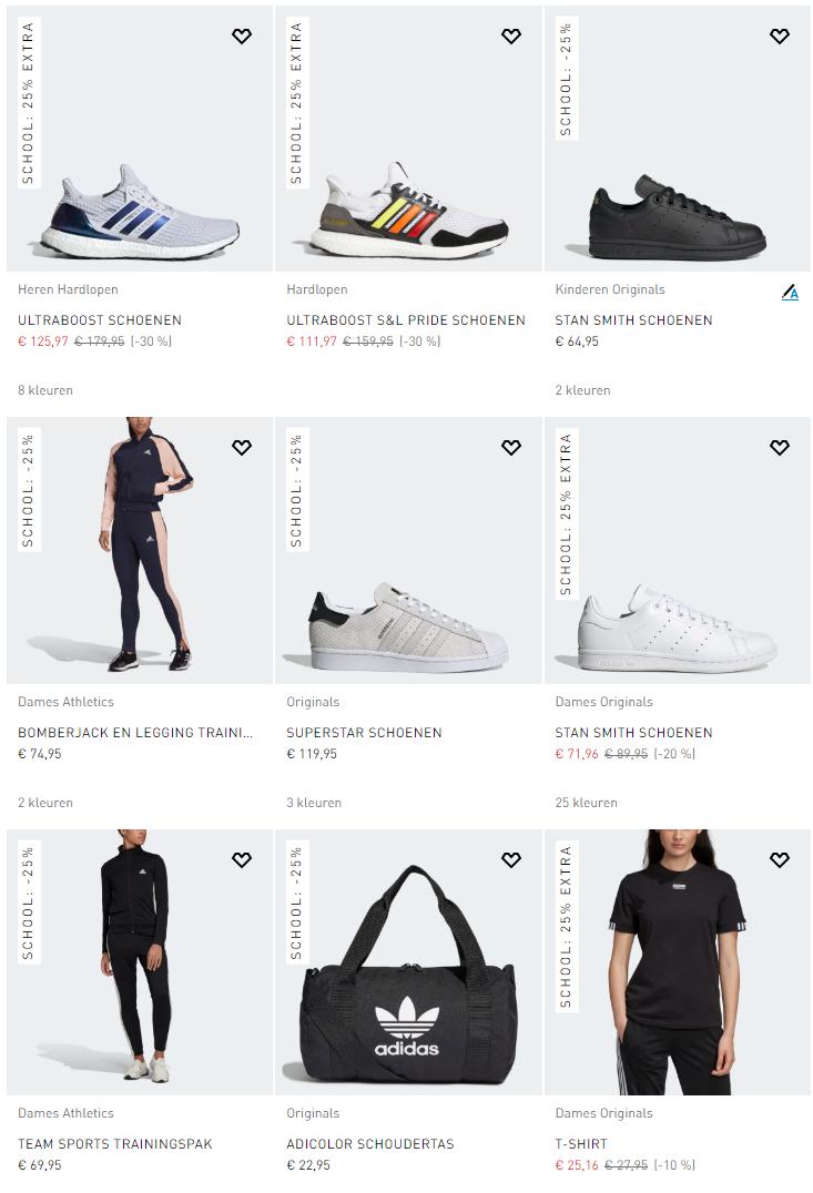今日开始!7000多款Adidas精选商品有额外25%折扣,早买早享受……
