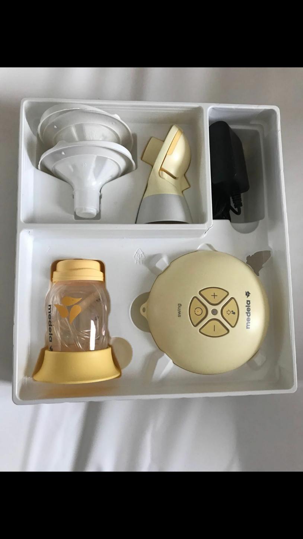 出售尿布垫10基本就月子里用,自动吸奶器110送一个手动吸奶器,...