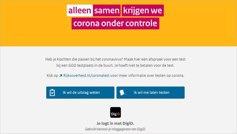 荷兰预约新冠测试网站来了!回国需要预先核酸检测的措施有新变化