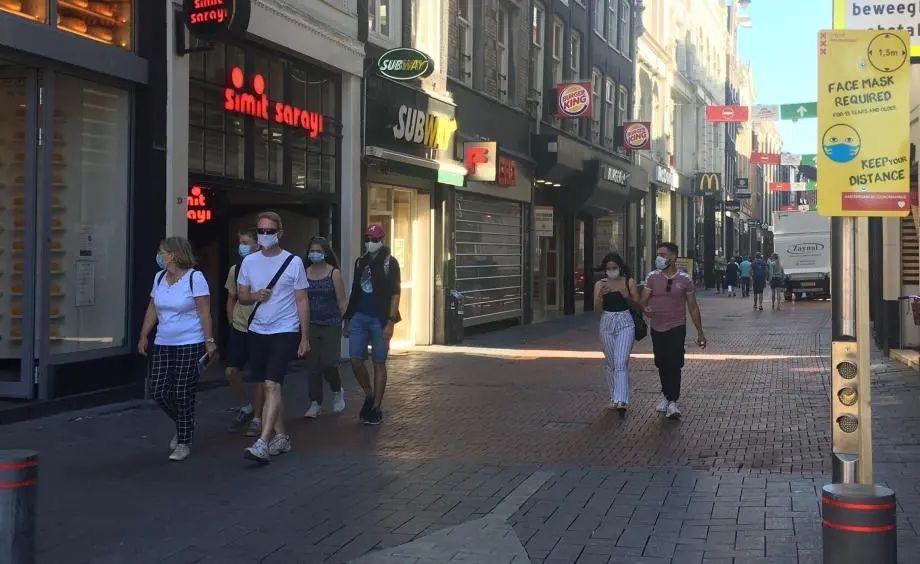 阿姆和鹿特丹戴口罩措施今天开始暂停,对民众和经济的妥协?