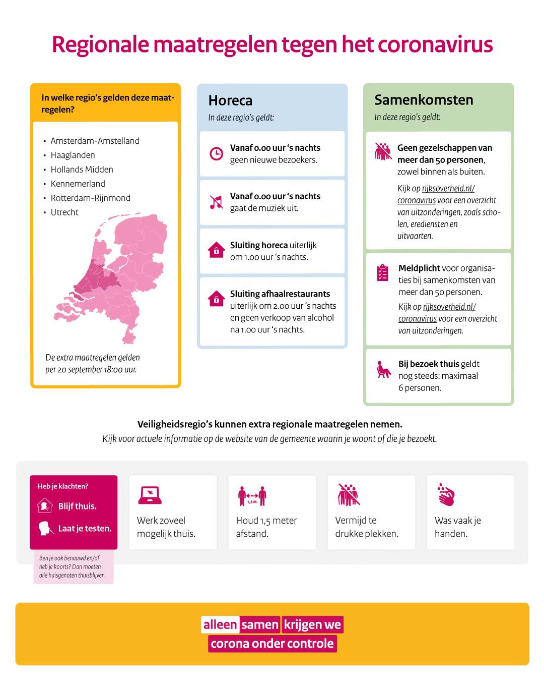 各地额外防疫措施出台,鹿特丹市长:疫情恶化,没有一个荷兰人是无辜的…