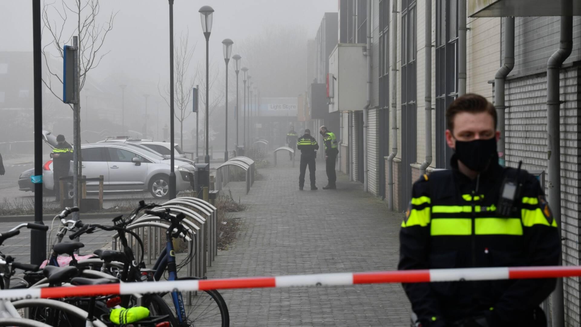 荷兰又一GGD测试点爆炸,警察猜测是有预谋的破坏行为