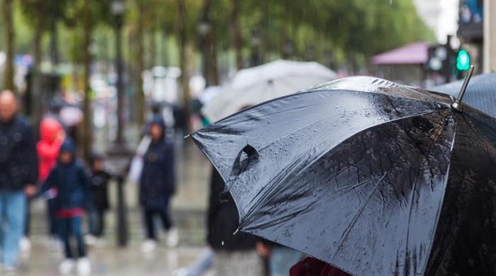黄色天气预警!有一股强暴雨正在路上,晚点抵达荷兰…