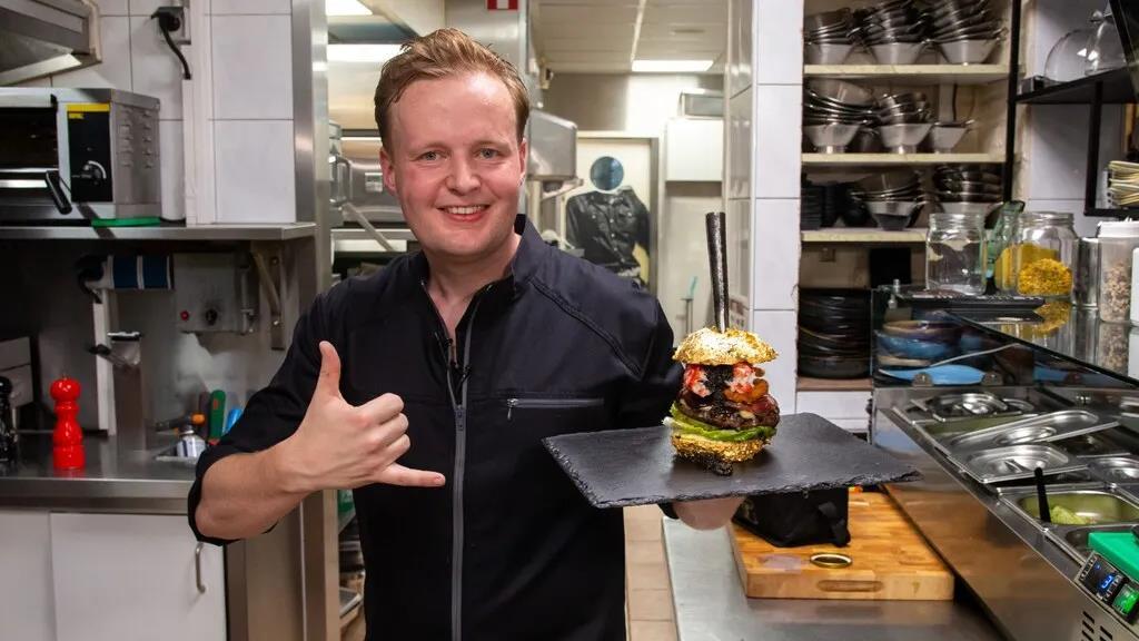 吃惊!荷兰人做了一个售价5000欧的汉堡,需提前两周预订