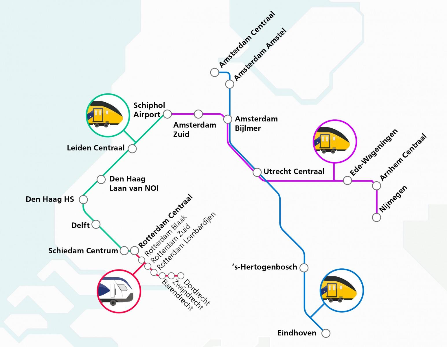 方便太多了!荷兰多条繁忙火车线路将升级,10分钟就有一班